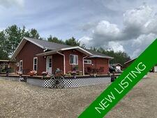 Dawson Creek Single Family Acreage for sale:  4 bedroom 1,220 sq.ft. (Listed 2020-12-11)